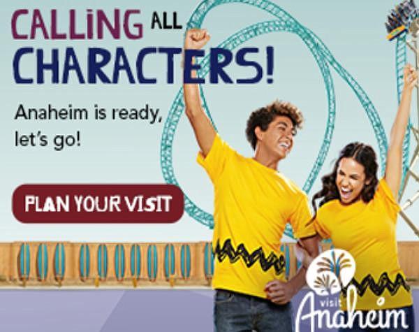Visit Anaheim's new campaign
