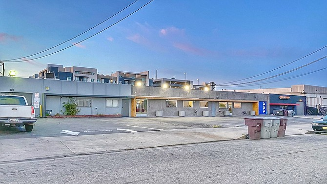 Industrial property at 426-434 W. Cypress St. in Glendale.