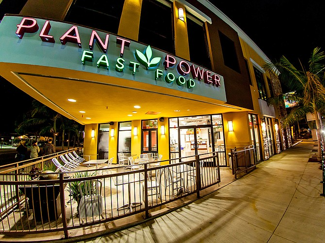 Plant Power Fast Food, with eight locations, plans to nearly double its number of restaurants by Q2 of 2022. Photo Courtesy of Plant Power Fast Food.