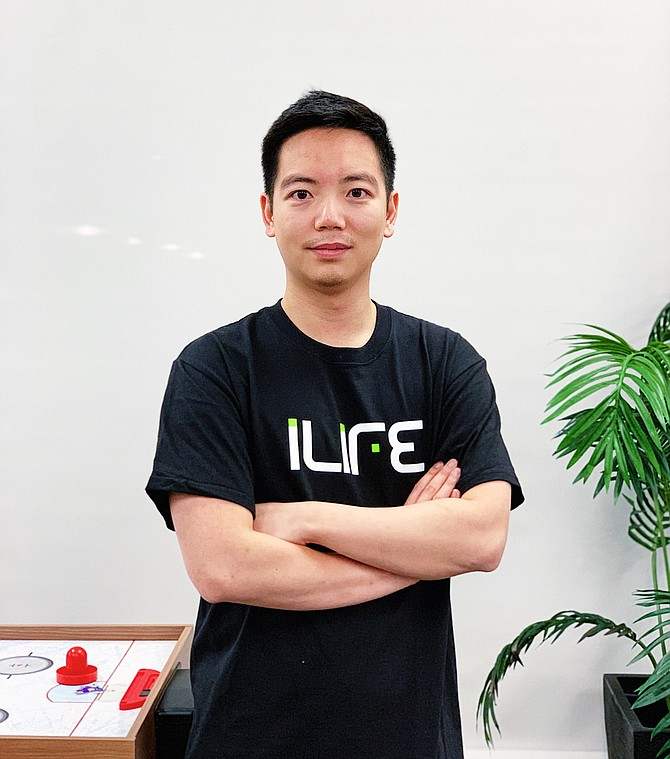 iLife founder and Chief Executive Nelson Lee.