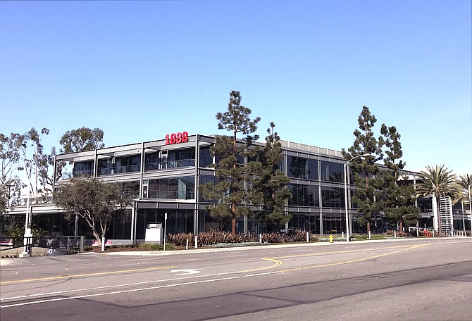 Part of Continental Park, the office property at 1888 Rosecrans Ave. in Manhattan Beach was refinanced for $30 million in June 2021.