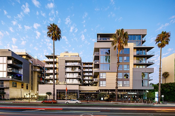 Waverly and Seychelle condominiums in Santa Monica.