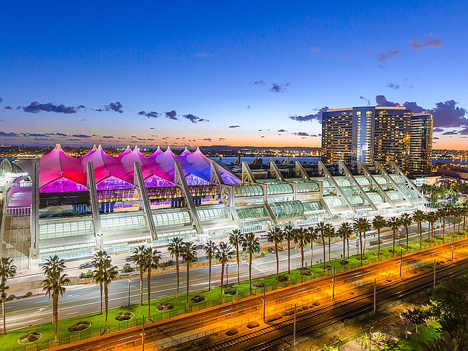 Approximately 70 events are scheduled to take place at the San Diego Convention Center from August 2021 to June 2022. Photo Courtesy of San Diego Convention Center Corporation.