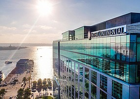 Consortium Holdings will debut a members-only club called The Reading Club in September on the 20th floor of the InterContinental San Diego. Photo Courtesy of InterContinental San Diego.