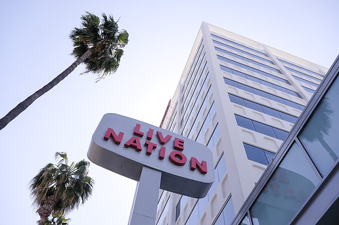Live Nation's Beverly Hills headquarters.