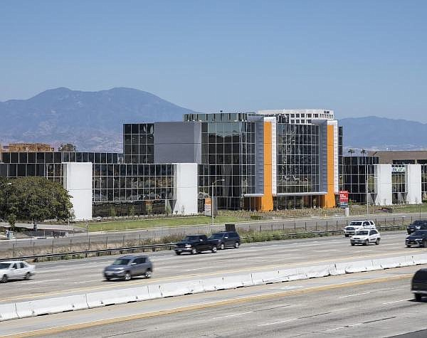 2445 McCabe building as seen from the 405 freeway