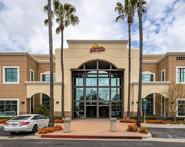 Del Taco occupies 40,000 square-feet at Lake Forest HQ