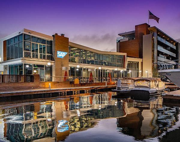 SAP's Newport Beach office opened in September 2019