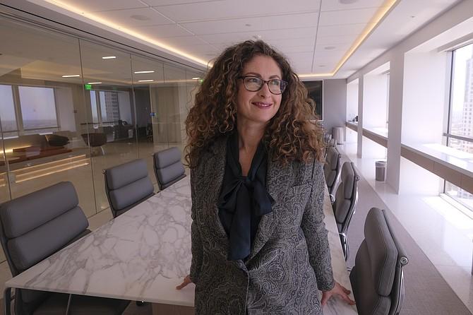 Karina Sterman, a partner at Greenberg Glusker Fields Claman & Machtinger.