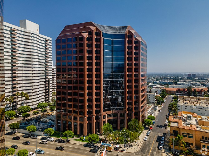 Pacific Oak Capital's Sawtelle headquarters.