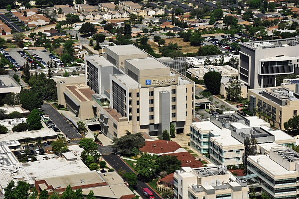 Duarte-based City of Hope, an independent research and treatment center for cancer, diabetes and other life-threatening diseases.