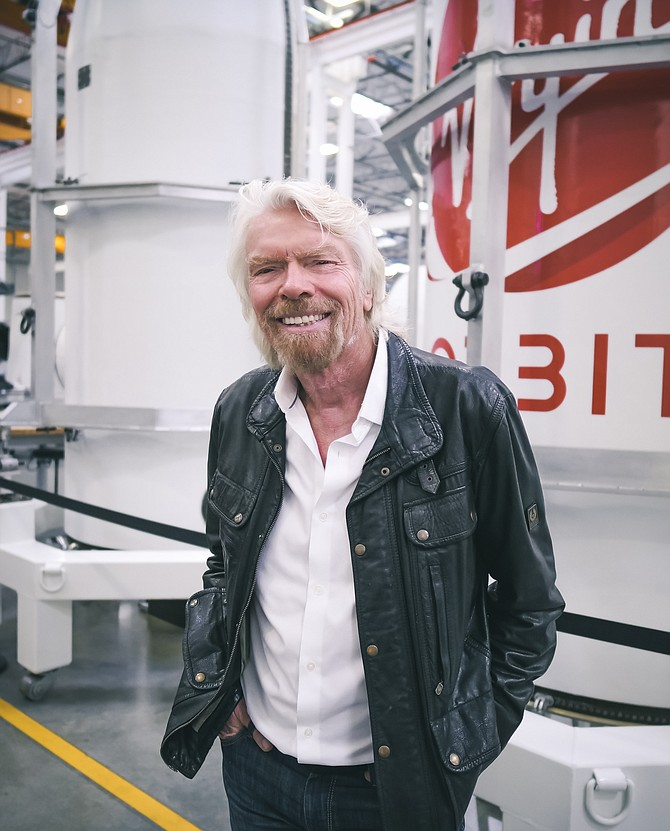 Richard Branson, founder and chairman, Virgin Orbit.