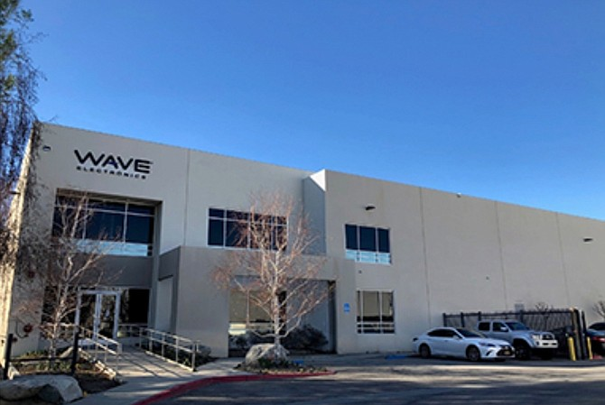 Warehouse at 16333 Raymer St. in Van Nuys.