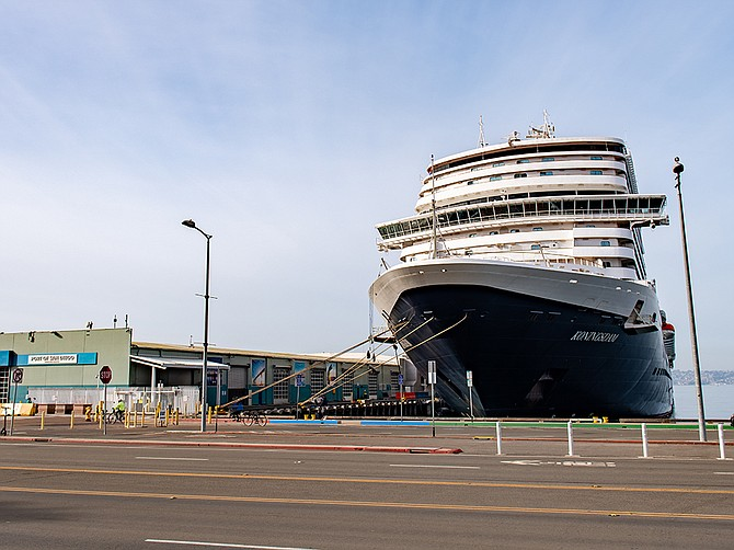 Holland America Line is projecting passenger count will be 25% higher by 2022-2023 than 2018-2019, which was the last time it sailed. Photo Courtesy of Holland America Line.