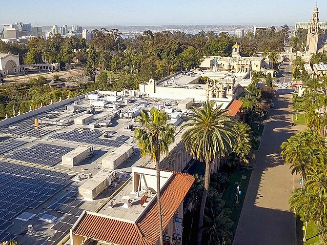CollectiveSun helped the Museum of Photographic Arts in Balboa Park with a rooftop solar installation. Photo courtesy of CollectiveSun.