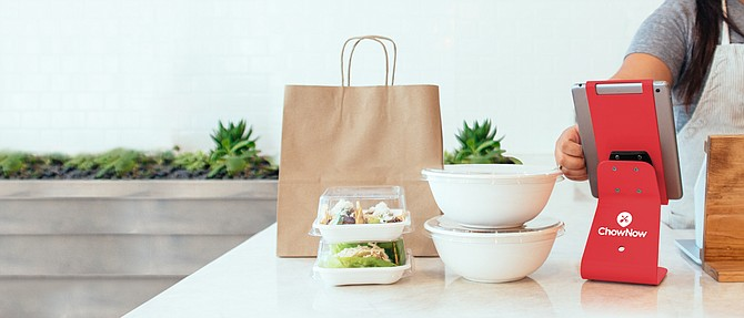 ChowNow says digital takeout orders have not decreased.