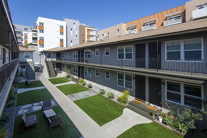 CBRE's Daniel Blackwell recently sold a 28-unit multifamily property in Long Beach.