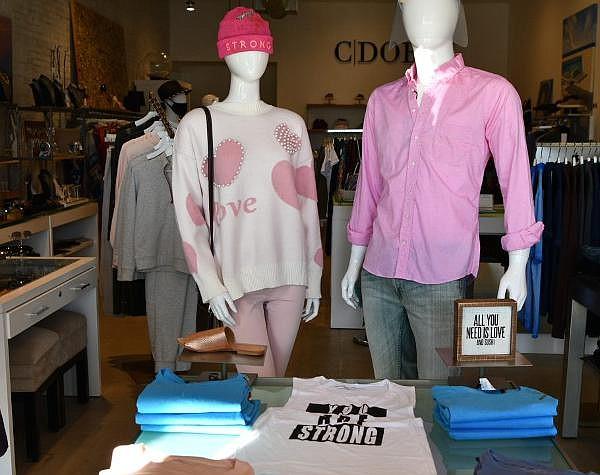 Carol Dobbs, owner of C Dobbs boutique in Newport Beach, is organizing a virtual fashion show