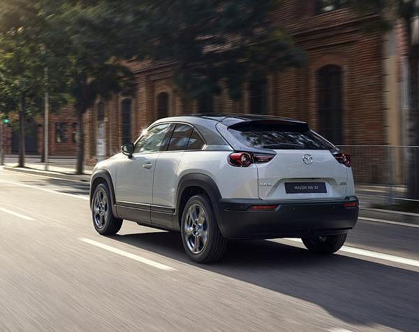 The Mazda MX-30 electric hits California in the fall