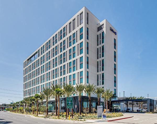 Radisson Blu, one of three new hotels in Anaheim