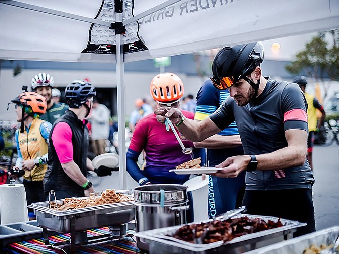 Founded in 2015, Monuments of Cycling puts on the Belgian Waffle Ride every year in San Diego. It is coming back on July 16 after a year of absence due to COVID-19. Photo Courtesy of Monuments of Cycling.