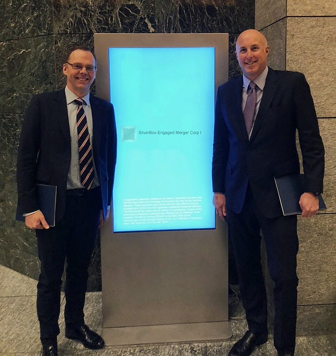 SilverBox Chief Investment Officer Duncan Murdoch and CEO Steve Kadenacy.