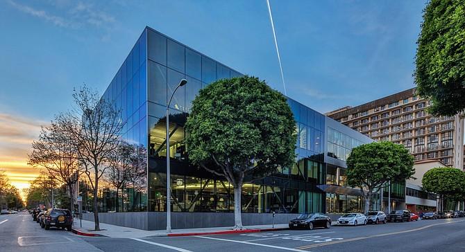 Kenney Wilson's Beverly Hills headquarters.