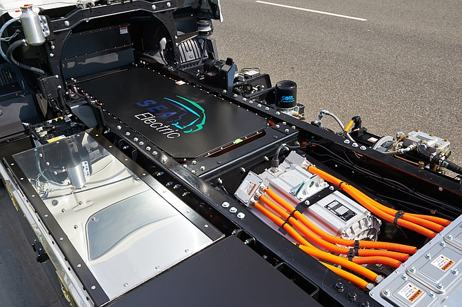 SEA's electrification tech can be used in a range of commercial vehicles.