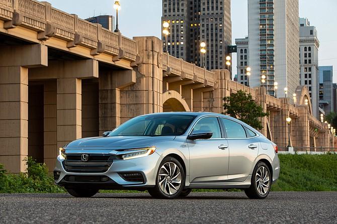Honda offers the Insight hybrid model.