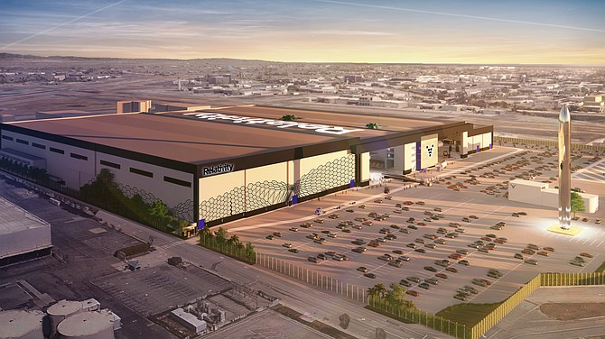 Relativity will take on a 93-acre site in Long Beach.