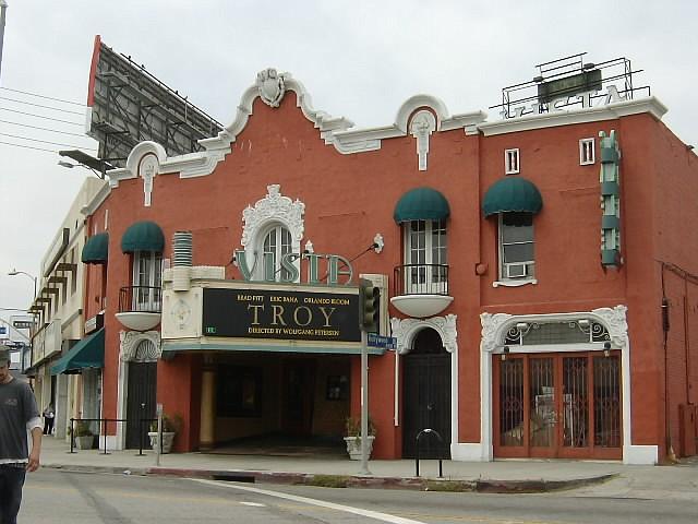 The Vista Theatre at 4473 Sunset Blvd. in Los Feliz.