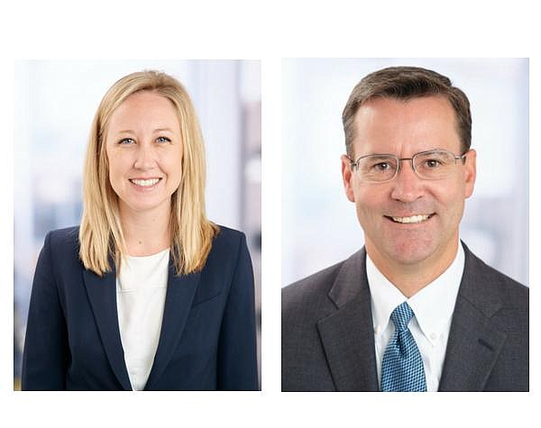 Samantha Dorey and Seymour 'Sy' Everett, Founding Partners of Everett Dorey