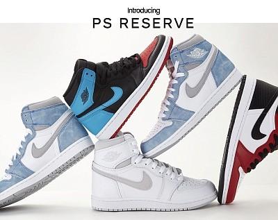 The PS Reserve online shop