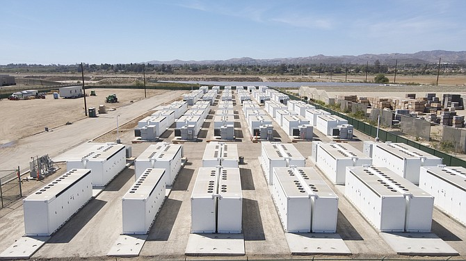 Saticoy battery energy storage facility near Oxnard.