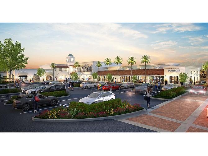 The Beacon La Costa has undergone a $10 million renovation. Rendering courtesy of Asana Partners.