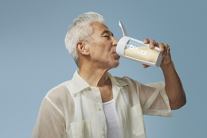 Ritual offers shakes and vitamins.
