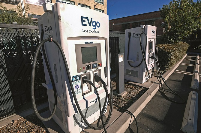 EVgo operates more than 800 charging stations across the Untied States.