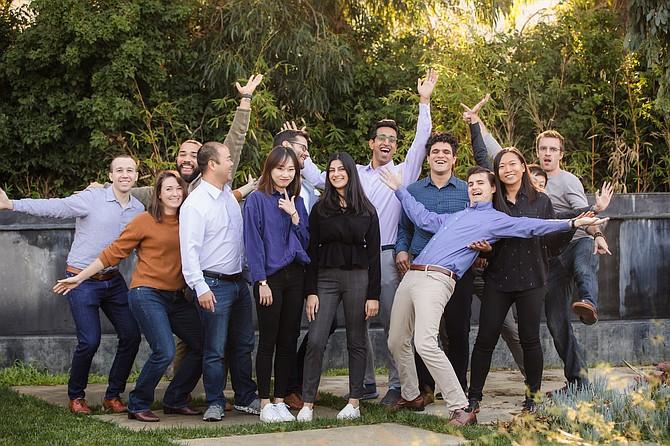 Santa Monica-based Retina's staff.