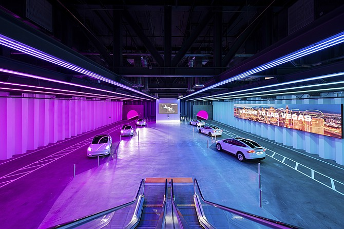 Boring Co. opened its first underground transit system using Tesla vehicles in Las Vegas.