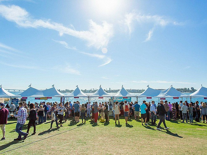 The San Diego Bay Wine + Food Festival, which was temporarily postponed last year due to COVID-19, will make a return to the Embarcadero in November. Photo Courtesy of San Diego Bay Wine + Food Festival.