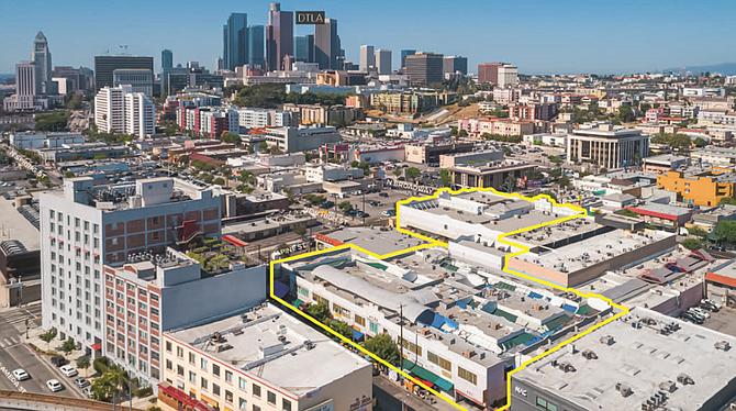 An unnamed buyer has acquired Dynasty Shopping Center in Chinatown.