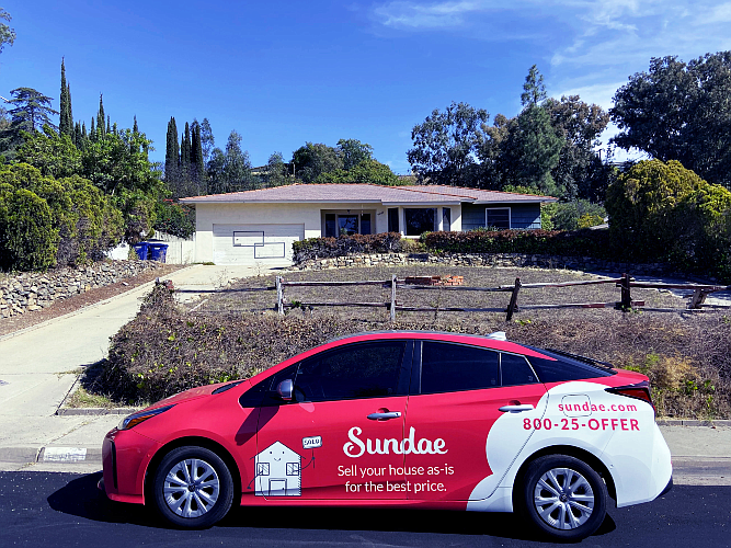 Sundae connects sellers directly to vetted property investors to displace wholesalers..
