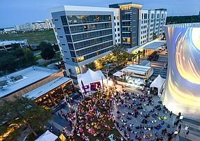 Lake Nona Town Center in Orlando, Fla. Disney plans to build a campus near the 17-square-mile community of Lake Nona.