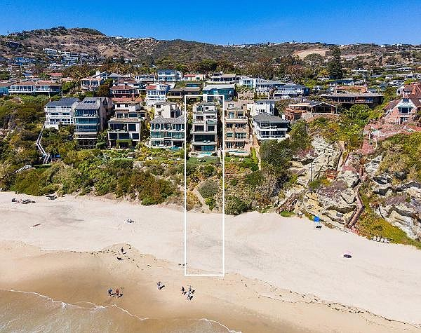 Compass' Rob Giem has the $29.9M listing for 25 Bay Drive in Laguna Beach