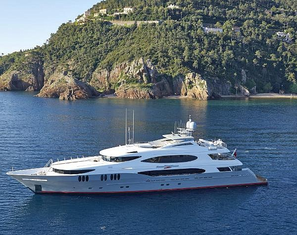 Zoom Zoom Zoom: 161-foot yacht bought in 2015