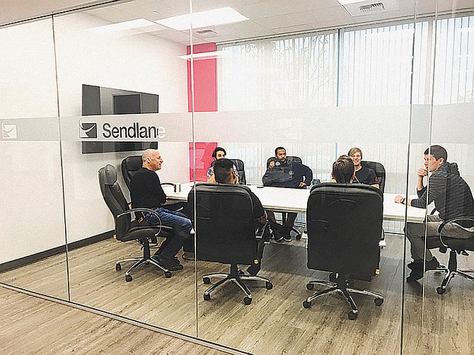 Photo courtesy of Sendlane.  Over the last several years,  the Scripps Ranch email marketing firm has grown 100% year-over-year bringing in $7 million in annual recurring revenue. It expects to have 150 staffers by end of 2022.