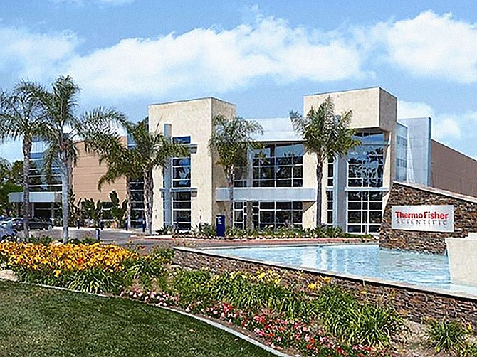 Photo courtesy of Thermo Fisher Scientific Thermo Fisher Scientific has completed the renovation of a building on its Carlsbad campus.