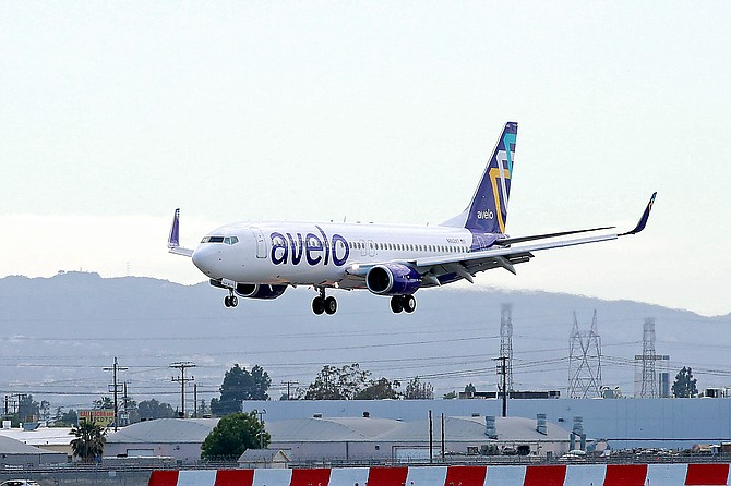 Avelo Airlines Boeing 737.