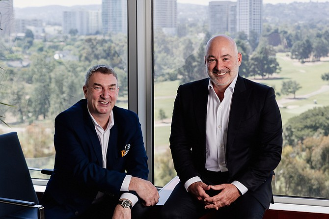 Roy Taylor (left), founder and chief executive of Ryff and Paul Feinstein, managing partner and chief investment officer of Audent Global Asset Management.