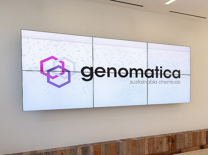 Photo courtesy of Genomatica.  Genomatica's latest funding round brings its total raised to $388 million from investors. It employs 150 staffers.